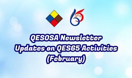 QESOSA Notice – Updates on QES65 Activities (Feb)