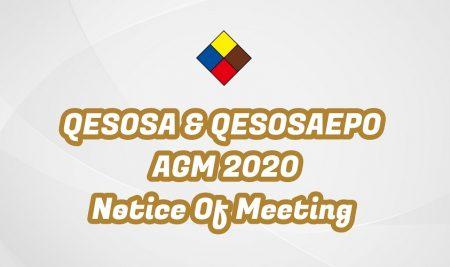 QESOSA & QESOSAEPO AGM 2020 Notice of Meeting