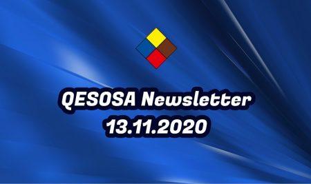 OSA E-Newsletter 13.11.2020